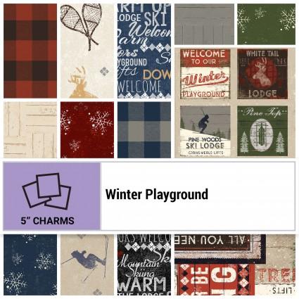 Winter Playground 5 Square Pack