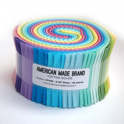 American Made Brand Pastel Strip Roll