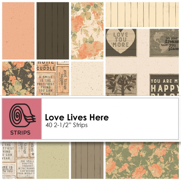 Love Lives Here - 2.5 Strips