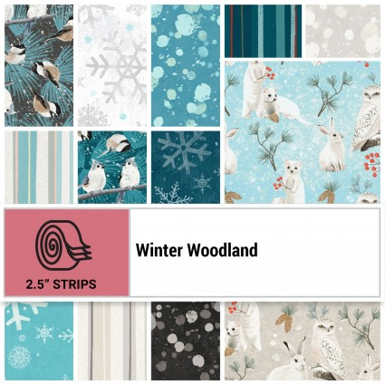 Winter Woodland 2.5 Strips