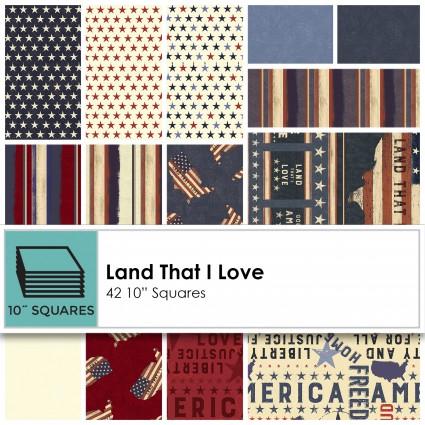 Land That I Love 10 Squares