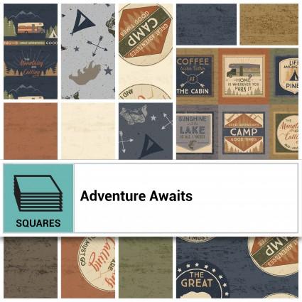 Adventure Awaits 10' square Bundle
