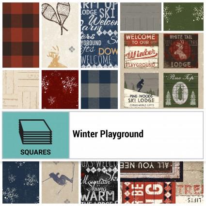 Winter Playground 10 Square Pack