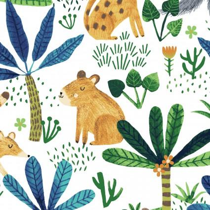 Clothworks - CLTY2419-1 Jungle Fever