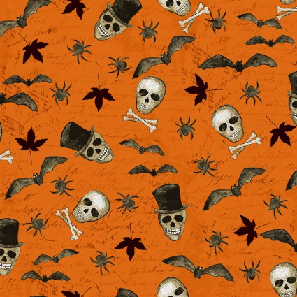 Something Wicked Small Toss Orange CLTY2427-36