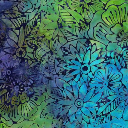 CLOTH- Batik Menagerie Floral Multicolor