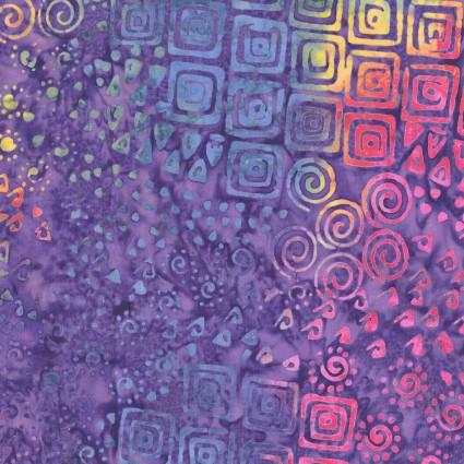 CLOTH- Batik Menagerie Allover Geo Multicolor