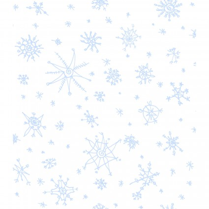 Clothworks Winter Love Y2501-1 White