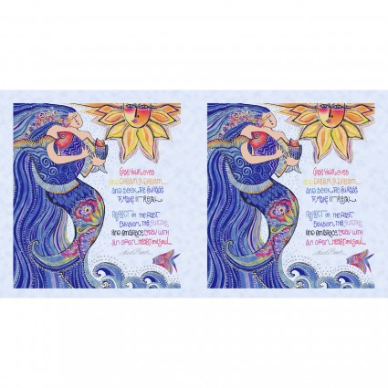 Sea Goddess Panel