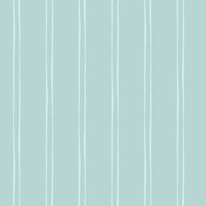 Secret Garden Stripe Light Teal Y2628-103