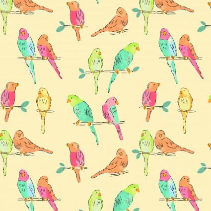 A Beautiful Day Yellow Birds