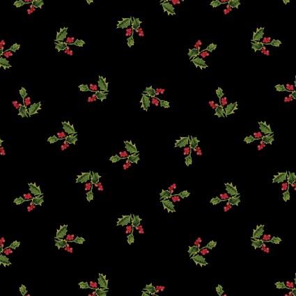 Merry Holly Spring black