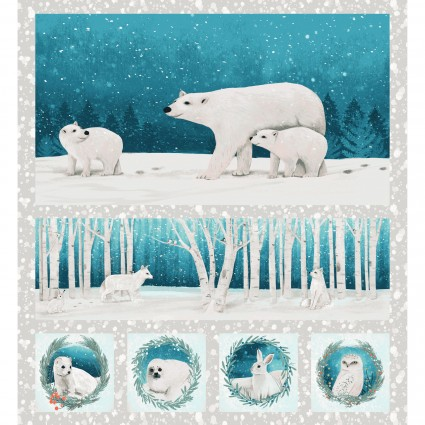 Winter Woodland Small Animal Panel