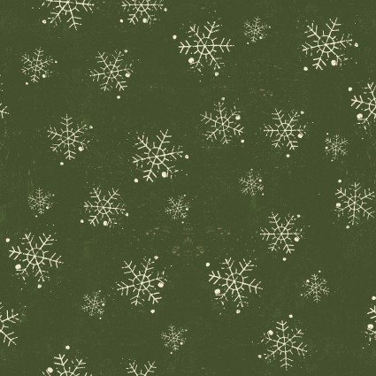 Winter Playground Snowflakes Light Forest