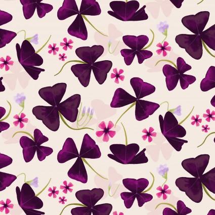 Amethyst Garden Khaki Flowers