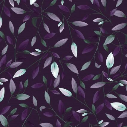 Amethyst Garden Purple/Leaves