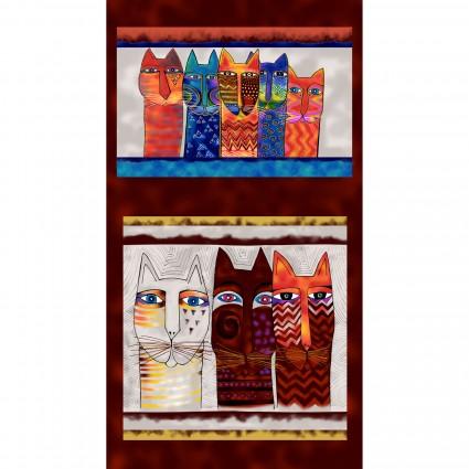 Feline Frolic Panel