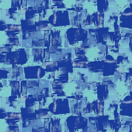 Squares/Royal Blue: You, Me and the Trees (Clothworks)