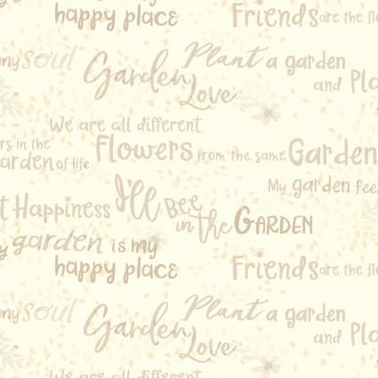 Garden Notes Cream