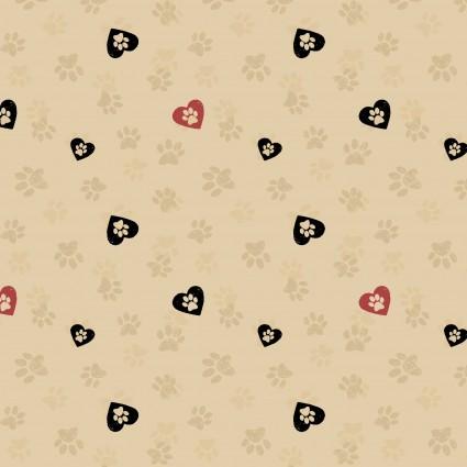 WIGGLEBUTTS Khaki Love Paws