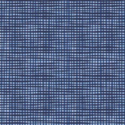 Happy! - Woven Texture in Light Navy