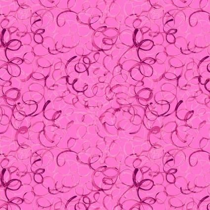 Animal Magic - wool on pink