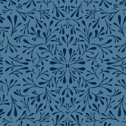 Fresh Meadow Floret Y2908-88  Denim