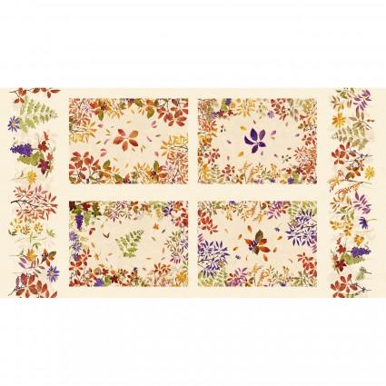 Autumn Air Placemat  Panel - Cream