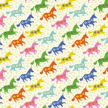 Forever Magic - Galloping Unicorns Cream