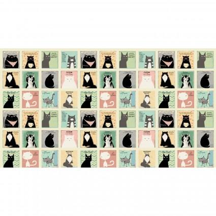 Snarky Cats : Cream Blocks - #Y3058-57 - Dan DiPaolo