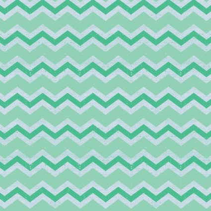 Snarky Cats Chevron Turquoise Y3060-101