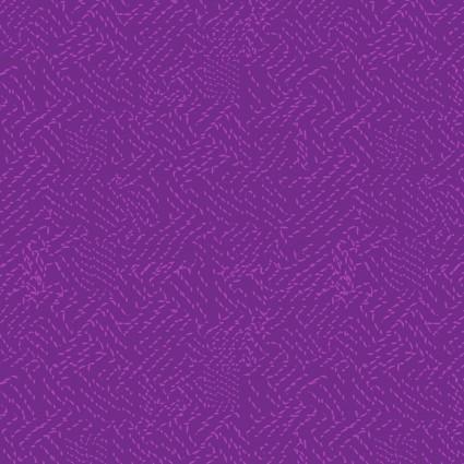 CLOTH- THISTLE PATCH purple tonal