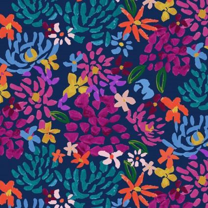 Y3072-53 Clothworks Painted Petals Fall Floral
