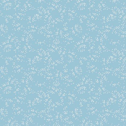 Blue Goose Small Dot Light Blue by Meags and Me