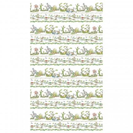 Leap Frog pictorial stripe