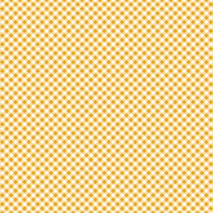 Leap Frog Yellow Bias Gingham