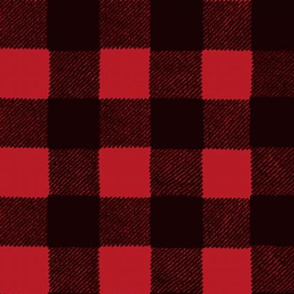 Wild Life Flannel-Red/Black Buffalo Plaid