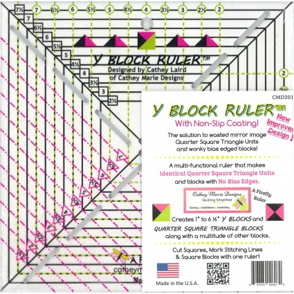 Y Block Ruler