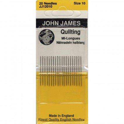 BETW SZ 10 John James Quilting Needles