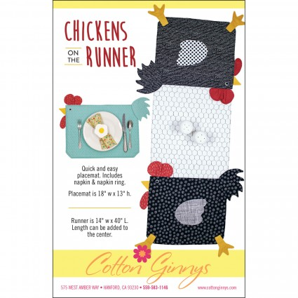 Chickens on the Runner Pattern