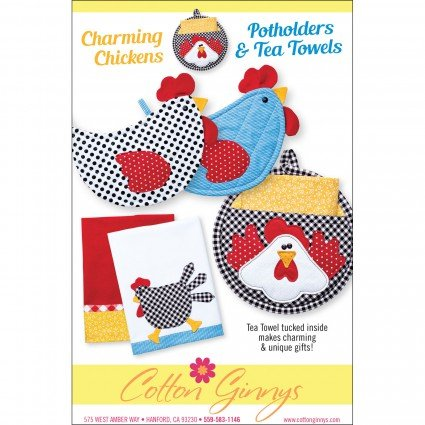 Charming Chickens Hot pads Pattern
