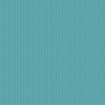 Planted with Love Tonal Sprout Stripe Turquoise - Benartex