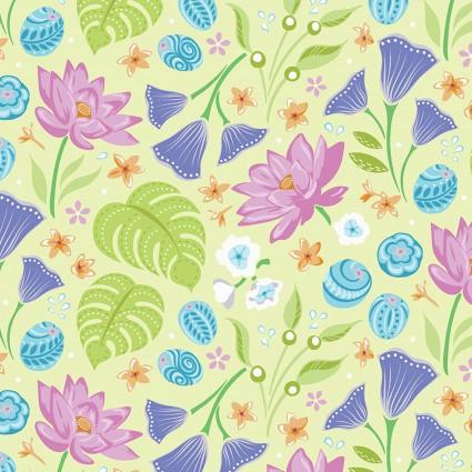Crescendo Floral Lime