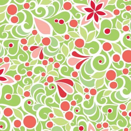 Christmas Magic- Floral Green