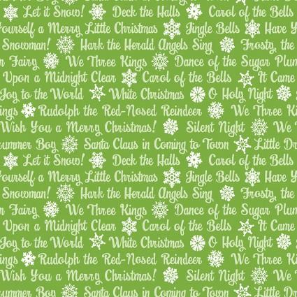 Christmas Magic- Green Text