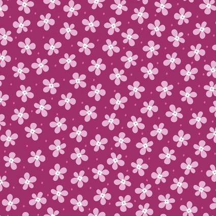 Front Porch - Happy Raspberry Flowers