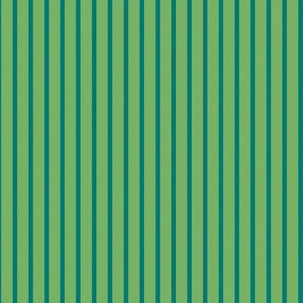 Green Stripe Green: Warp & Weft