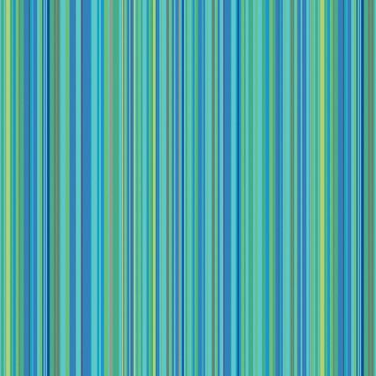 Multi Stripe Aqua: Warp & Weft