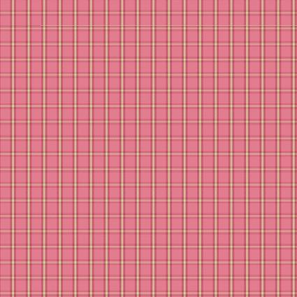CONT- Warp & Weft Pink Tiny Plaid