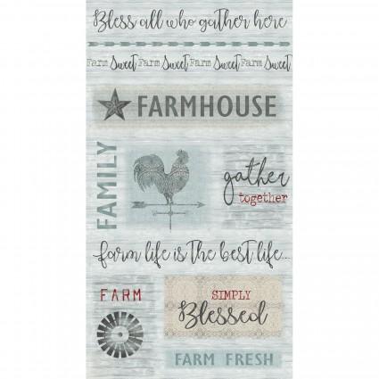 Farm Sweet Farm 6839 Panel